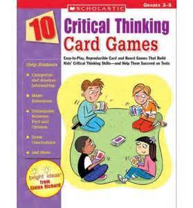 Critical Thinking Card Game