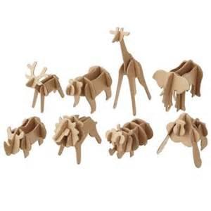 MUJI 3D Animal Puzzles